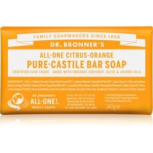 Dr. Bronner's Citrus & Orange tuhé mýdlo