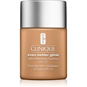 Clinique Even Better Glow make-up pro rozjasnění pleti SPF 15 odstín CN 90 Sand 30 ml