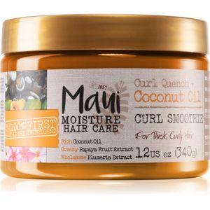 Maui Moisture Curl Quench + Coconut Oil maska pro vlnité a kudrnaté vlasy 340 g