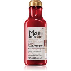 Maui Moisture Strength & Anti-Breakage + Agave posilující kondicionér pro poškozené, chemicky ošetřené vlasy 385 ml