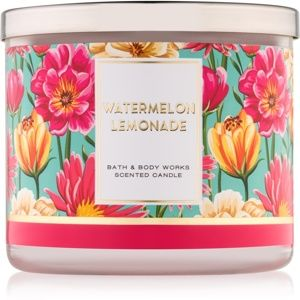 Bath & Body Works Watermelon Lemonade vonná svíčka V. 411 g