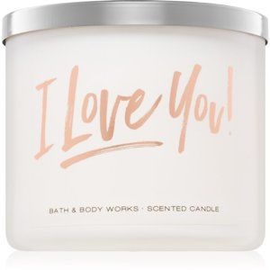 Bath & Body Works Bourbon Sea Salt Caramel vonná svíčka 411 g