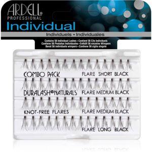 Ardell Individuals Combo Pack trsové nalepovací řasy bez uzlíku