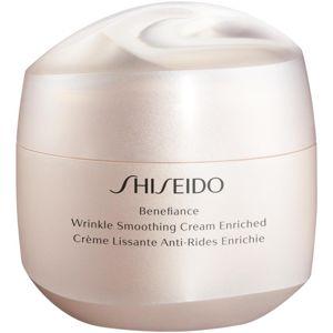 Shiseido Benefiance Wrinkle Smoothing Cream Enriched denní a noční krém proti vráskám (pro suchou pleť)