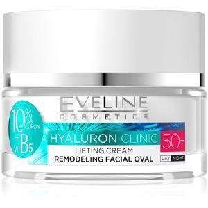 Eveline Cosmetics Hyaluron Clinic denní a noční liftingový krém 50+