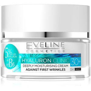 Eveline Cosmetics Hyaluron Clinic hydratační denní a noční krém 30+