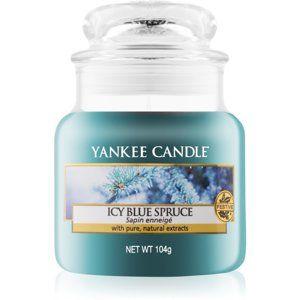 Yankee Candle Icy Blue Spruce vonná svíčka 104 g Classic malá