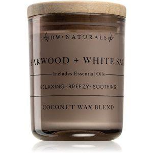 DW Home Teakwood + White Sage vonná svíčka 102,34 g