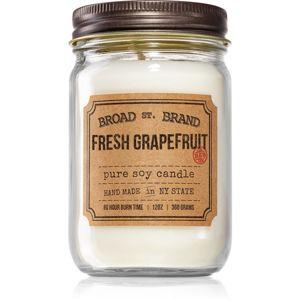 KOBO Broad St. Brand Fresh Grapefruit vonná svíčka (Apothecary) 360 g