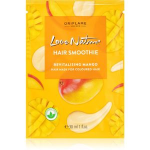 Oriflame Love Nature revitalizační maska pro barvené vlasy 30 ml
