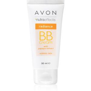 Avon Nutra Effects Radiance rozjasňující BB krém 5 v 1 odstín Extra Light 30 ml