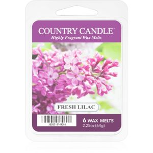 Country Candle Fresh Lilac vosk do aromalampy 64 g
