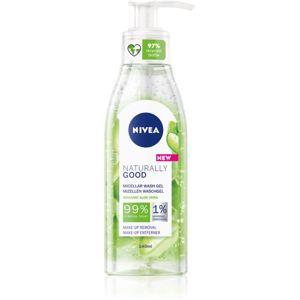 Nivea Naturally Good čisticí micelární gel 140