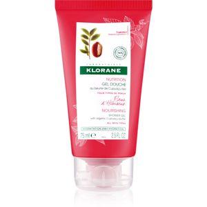 Klorane Cupuaçu Květy ibišku vyživující sprchový gel 75 ml