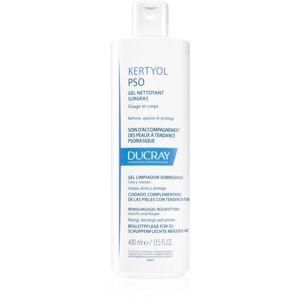Ducray Kertyol P.S.O. mycí gel na tělo a pokožku hlavy při projevech lupénky 400 ml