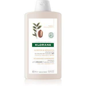Klorane Cupuaçu Květy cupuacu vyživující šampon pro obnovu a posílení vlasů 400 ml