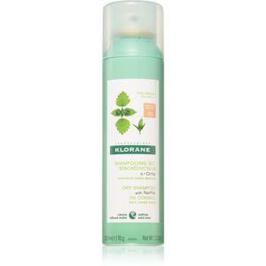 Klorane Kopřiva suchý šampon pro mastné tmavé vlasy 150 ml 150 ml