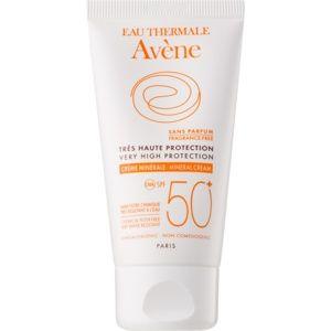 Avène Sun Minéral ochranný krém na obličej bez chemických filtrů a par