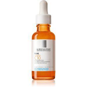 La Roche-Posay Pure Vitamin C10 rozjasňující protivráskové sérum s vit