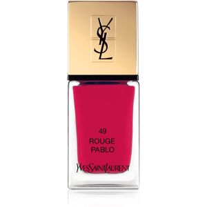 Yves Saint Laurent La Laque Couture lak na nehty odstín 49 Rouge Pablo 10 ml