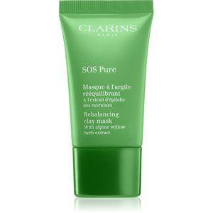 Clarins SOS Pure rebalanční jílová maska pro perfektní pleť