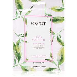 Payot Morning Mask Look Younger liftingová plátýnková maska 19 ml