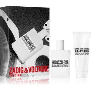 Zadig & Voltaire This is Her! dárková sada VI. pro ženy