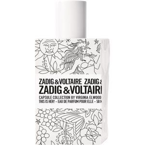 Zadig & Voltaire This is Her! No Rules Capsule Collection by Virginia Elwood parfémovaná voda pro ženy 50 ml