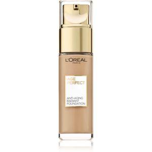 L'Oréal Paris Age Perfect omlazující a rozjasňující make-up odstín 160 Rose Beige 30 ml