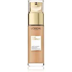 L'Oréal Paris Age Perfect omlazující a rozjasňující make-up odstín 180 Golden Beige 30 ml