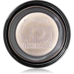 Maybelline Color Tattoo gelové oční stíny odstín Front Runner 4 g
