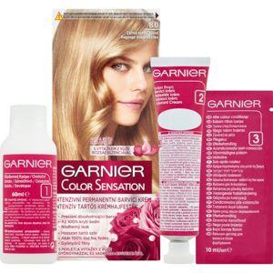 Garnier Color Sensation barva na vlasy odstín 8.0 Luminous Light Blond