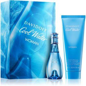 Davidoff Cool Water Woman dárková sada XIX. pro ženy
