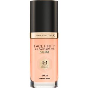 Max Factor Facefinity All Day Flawless make-up 3 v 1 odstín 35 Pearl Beige 30 ml