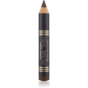 Max Factor Real Brow Fiber Pencil tužka na obočí odstín 004 Deep Brown