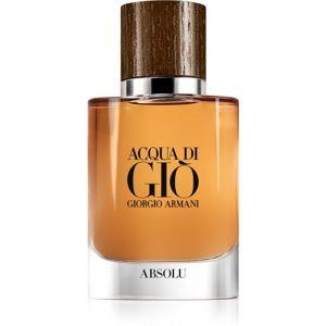 Armani Acqua di Giò Absolu parfémovaná voda pro muže 40 ml