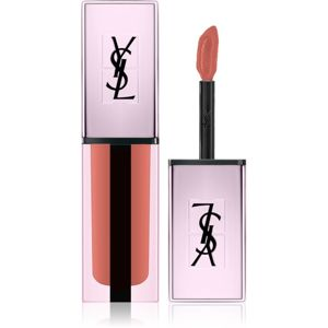 Yves Saint Laurent Vernis À Lèvres Water Stain Glow vysoce pigmentovaný lesk na rty 207 Illegal Rosy Nude 5,9 g