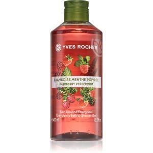 Yves Rocher Raspberry & Mint energizující sprchový gel 400 ml
