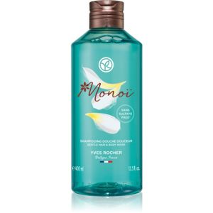 Yves Rocher Monoi de Tahiti sprchový gel na tělo a vlasy 400 ml