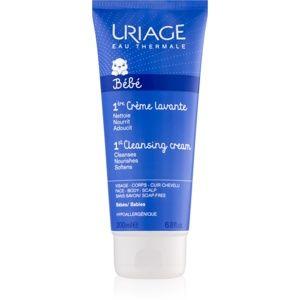 Uriage Bébé čisticí krém na tvář, tělo a vlasy