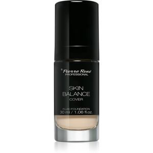 Pierre René Skin Balance Cover voděodolný tekutý make-up odstín 27 Cream 30 ml