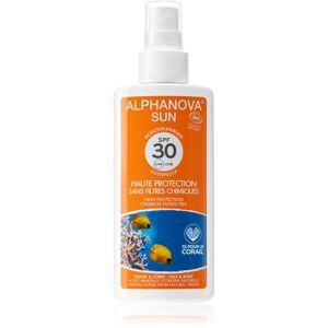 Alphanova Sun opalovací sprej SPF 30 125 g