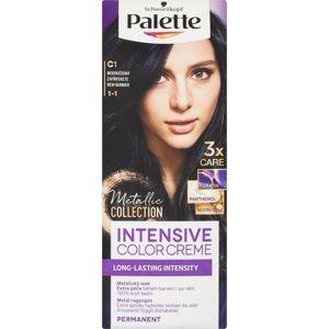 Schwarzkopf Palette Intensive Color barva na vlasy odstín 1-1 C1 Blue Black