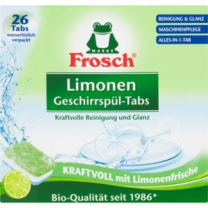 Frosch All in One Limonen tablety do myčky ECO 26 ks