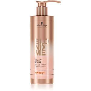Schwarzkopf Professional Blondme tónovací šampon pro blond vlasy Apricot 250 ml
