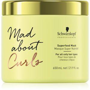 Schwarzkopf Professional Mad About Curls hydratační maska pro kudrnaté vlasy 650 ml