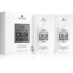 Schwarzkopf Professional Bond Enforcing odstraňovač barvy na vlasy 10x30 g