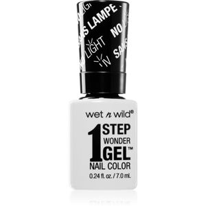 Wet N Wild 1 Step Wonder Gel gelový lak na nehty bez užití UV/LED lampy odstín Flying Colors 7 ml