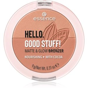 Essence Hello, Good Stuff! Matte & Glow bronzující pudr odstín 20 Cocoa-Kissed