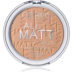 Catrice All Matt Plus matující pudr odstín 030 Warm Beige 10 g